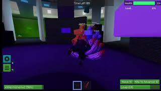 Roblox-spielender Zombie-Rausch auf der Xbox