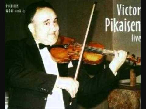 """Victor Pikaizen """"Violin Concerto"""" Beethoven (1.Mov.)"""