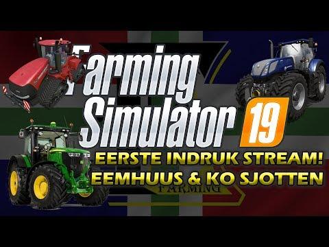 Farming Simulator 2019 Nederlands Eerste indruk! Eemhuus en Ko Sjotten! thumbnail