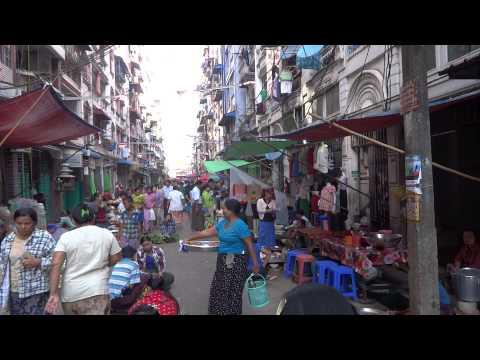 Yangon Chinatown Morning Market