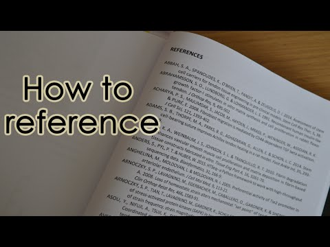Referencing Guide for Theses and Dissertations