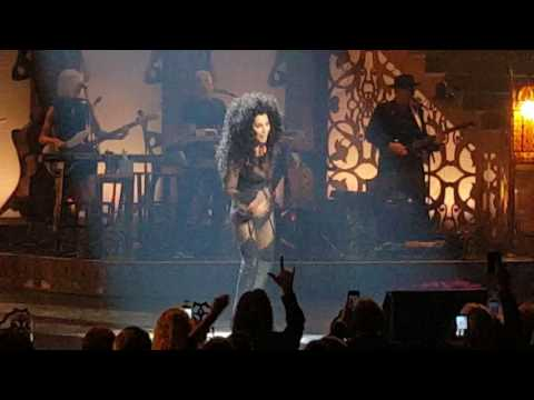 "Cher ""If I could turn back time "" live"