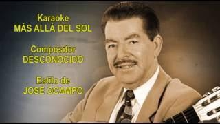 Mi Karaoke - Más Allá del Sol - José Ocampo