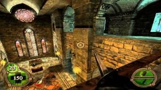 Return To Castle Wolfenstein Walkthrough Operation Resurrection - Part 16 ( Defiled Church ) PS2