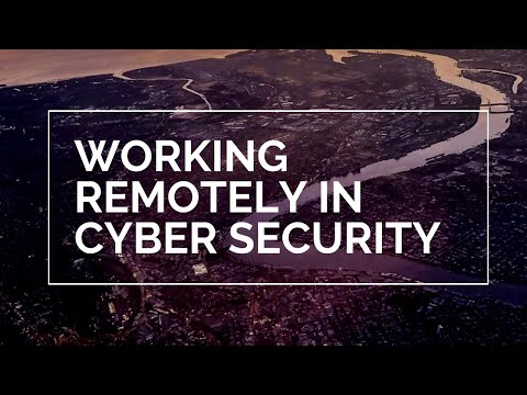 Can I Work Remotely In Cyber Security?