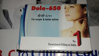Dolo 650 mg ( paracetamol ) tablets use and side effects full hindi review comapny micro labs