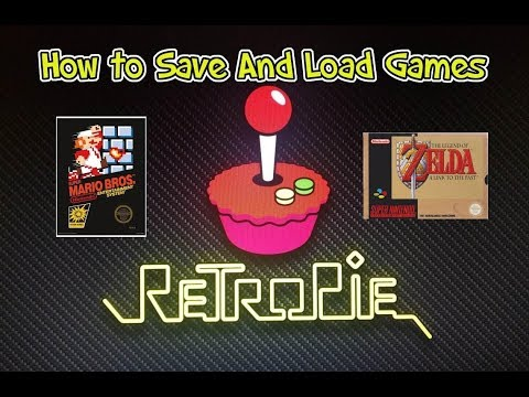How To Save And Load Games on the RetroPie