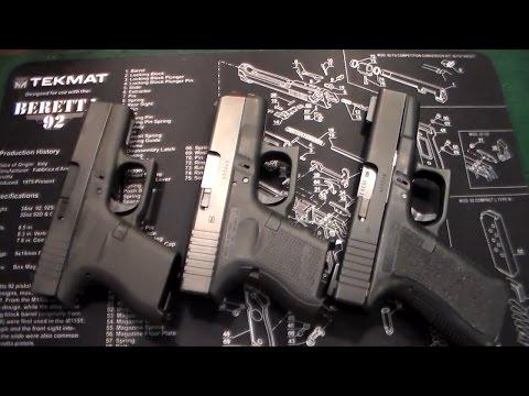 Glock Comparison: Glock 43/26/19