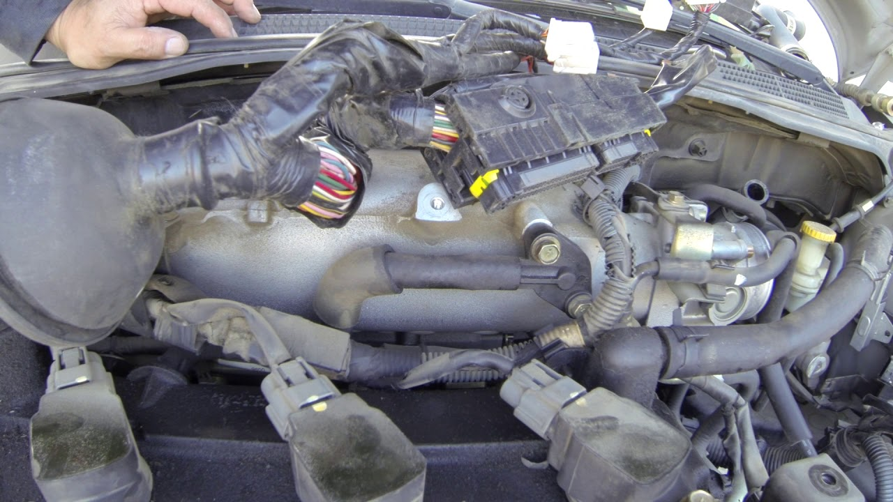 02 to 06 nissan altima transmission replace [ 1280 x 720 Pixel ]