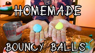 HOW TO MAKE HOMEMADE BOUNCY BALLS!