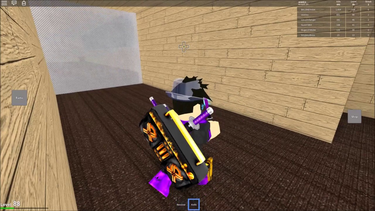 Roblox: Knife Ability Test Pro-Gameplay