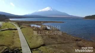 富士山&山中湖❗ドローン空撮