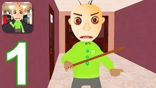 Education Basics Scary Teacher - Gameplay Walkthrough Part 1 - Episode 1 (iOS)