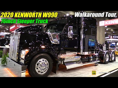 2019 Kenworth W990 76inch Sleeper Exterior And Interior