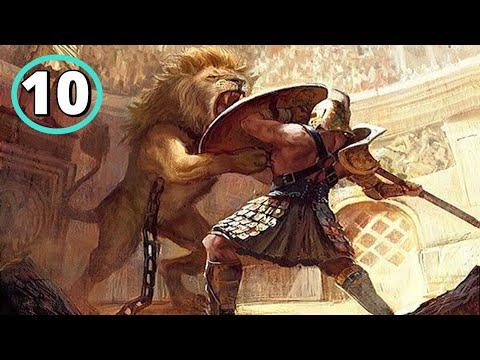 Los 10 Gladiadores M�s Letales de la Historia