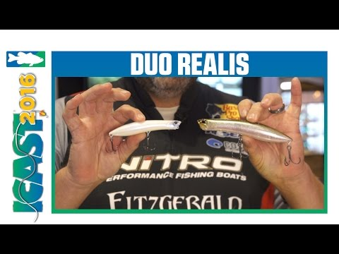 Duo Realis Pencil Popper 110 & 148 With David Williams | ICAST 2016