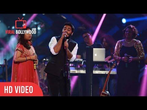 Arijit Singh LIVE Performance At GIMA Awards 2016 With Armaan and Amaal Malik, Badshah