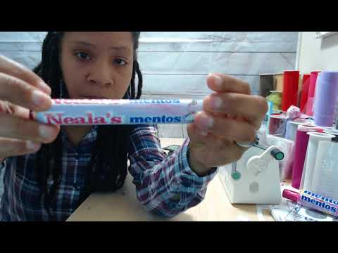 How to assemble the Mentos and Pop Rocks template- tutorial
