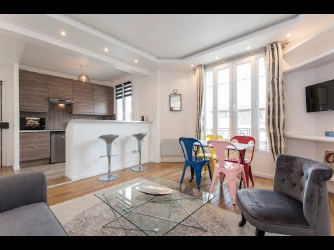 (Ref: 92085) 1-Bedroom furnished apartment for rent on rue Baudin (Levallois-Perret)