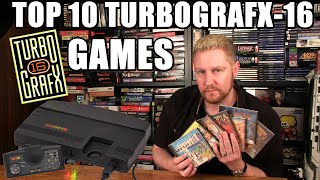 TOP 10 TURBOGRAFX-16 GAṀES - Happy Console Gamer