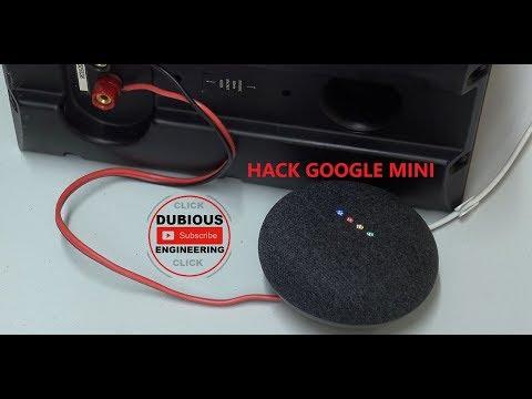 DuB-EnG: GOOGLE HOME MINI HACKED - Adding A Big Speaker To The Google MINI