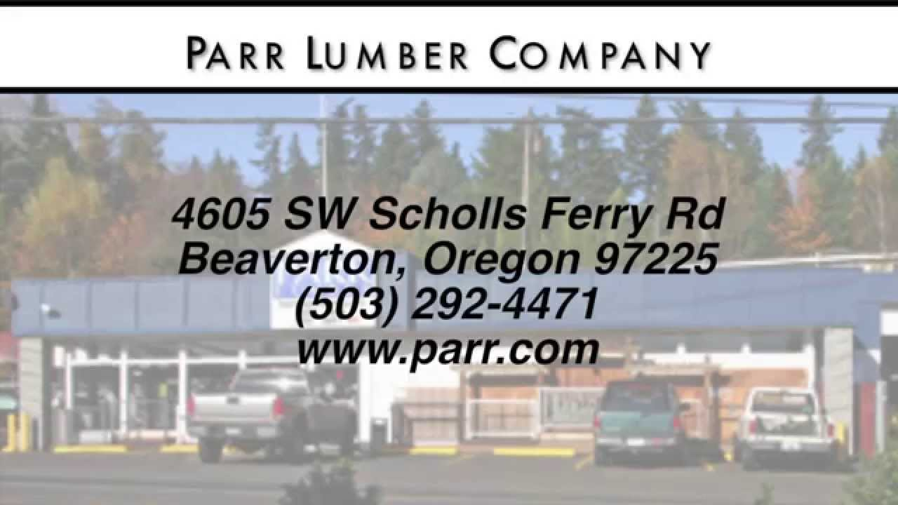 Parr Lumber Company Reviews Beaverton Oregon Custom