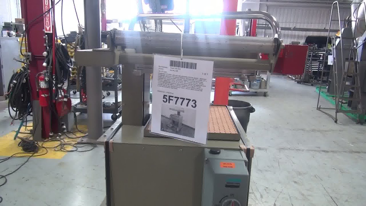 Ampak Semi-Auto Skin Packaging Machine Demonstration