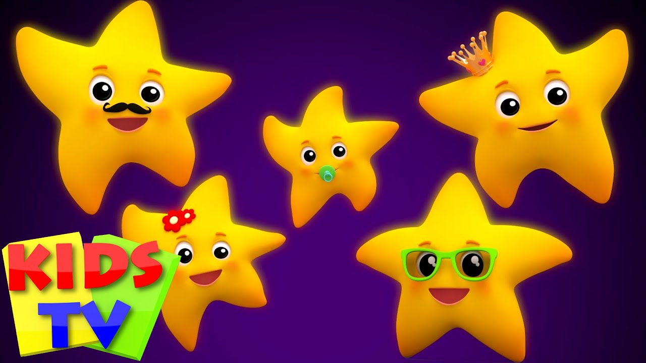 Stars finger family twinkle twinkle little star for Images of stars for kids