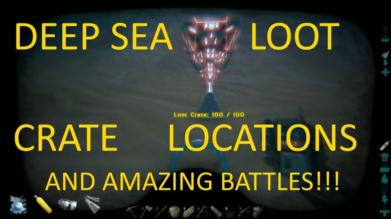 Deep sea loot crate locations and amazing battlesark rp server deep sea loot crate locations and amazing battlesark rp server ep17 youtube malvernweather Choice Image