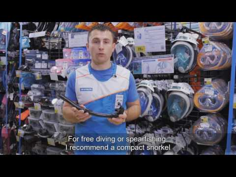 How to choose your diving snorkel ?