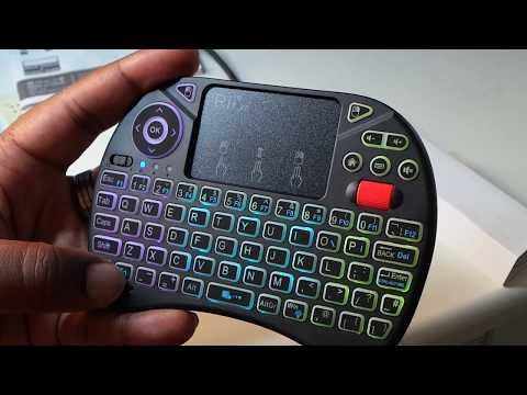 Is it Lit?! Rii Mini Wireless RGB Keyboard