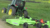Schulte FX 1800 Rotary Cutter with Jumper Pans - YouTube