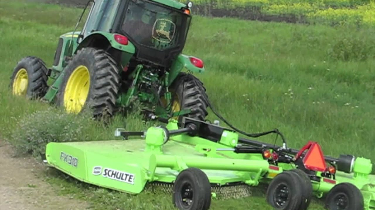Schulte Fx318 Rotary Cutter Youtube