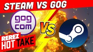Steam vs. GOG // Which is Better? - Hot Take Game News