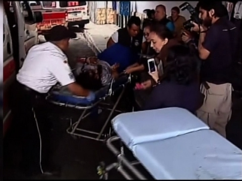 Raw: Guatemala Fire Kills At Least 22 Teens