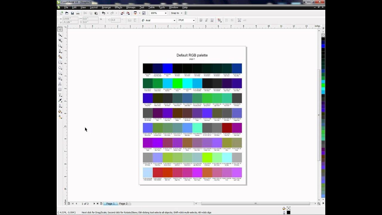 Line color in coreldraw - Using Spot Color In Coreldraw A Tutorial