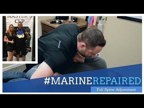 Marine's Back Pain Cured By Chiropractor in Friendswood, TX