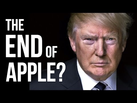 PRESIDENT TRUMP vs APPLE & THE NASDAQ - Will Donald Trump Crash The Stock Market?