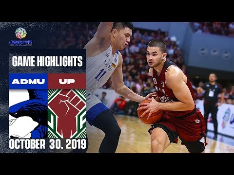 ADMU vs. UP - October 30, 2019 | Game Highlights | UAAP 82 MB