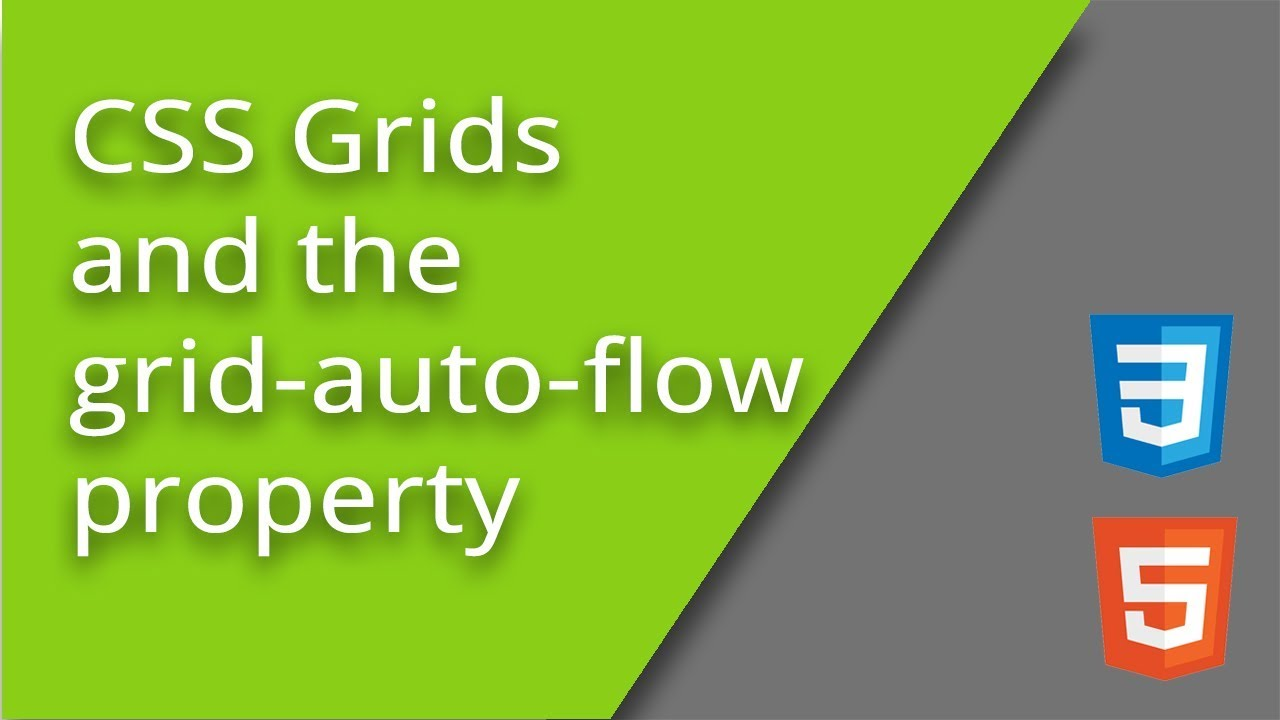 CSS Grid and grid auto flow