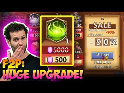 JT's F2P 90% Discount Store ONETIME! Game Changer Castle Clash