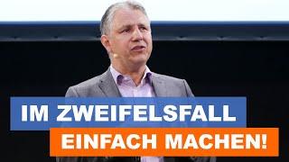 Keynote Speaker Dr. Jens Uwe Meyer: Im Zweifelsfall einfach machen!