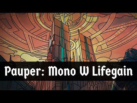 FEAR THE LIFEGAIN!! Pauper: Mono White Life Gain Deck | MTG Arena