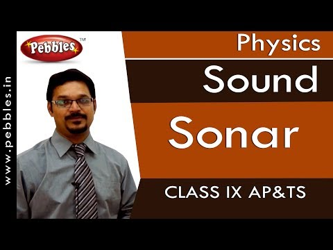 Sonar : Sound   Physics   Class 9   AP&TS
