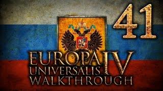 Прохождение Европа 4 за Московию(Россию). Часть 41 [Крупная война]