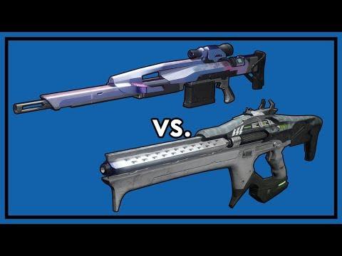Destiny 2: Linear Fusion Rifles vs. Sniper Rifles