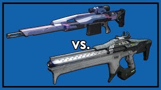 Destiny 2: Linear Fusion Rifles vs. Sniper Rifles - What's Better?