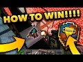 How to Win EVERY GAME in PG3D!!! (Pixel Gun 3D Glitches)
