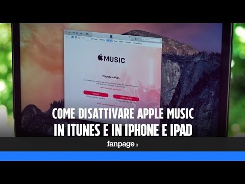 Come eliminare Apple Music da iTunes