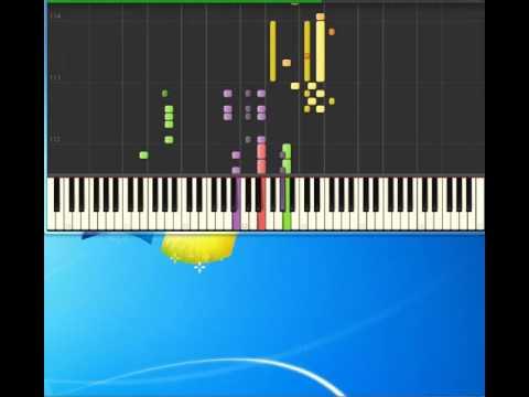 Lolly   Viva La Radio [Piano tutorial by Synthesia]